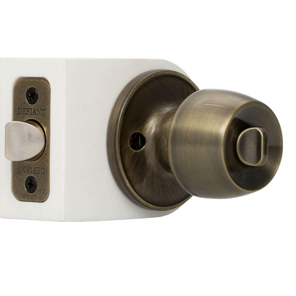 Upc 050134881013 Privacy Door Knobs Defiant Knobs