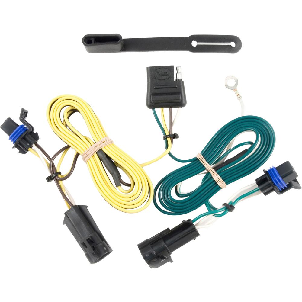 CURT Custom Wiring Harness (4-Way Flat Output) on