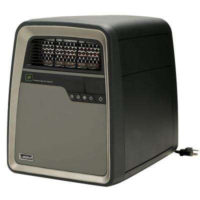 1500-Watt Electric Portable Cool-Touch Infrared Quartz Heater with Remote Control