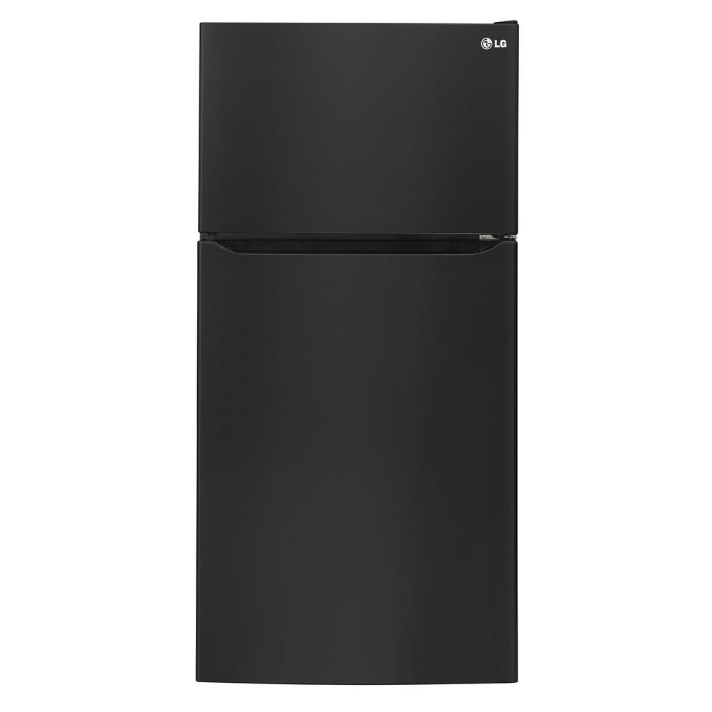 Lg Electronics 24 Cu Ft Top Freezer Refrigerator In