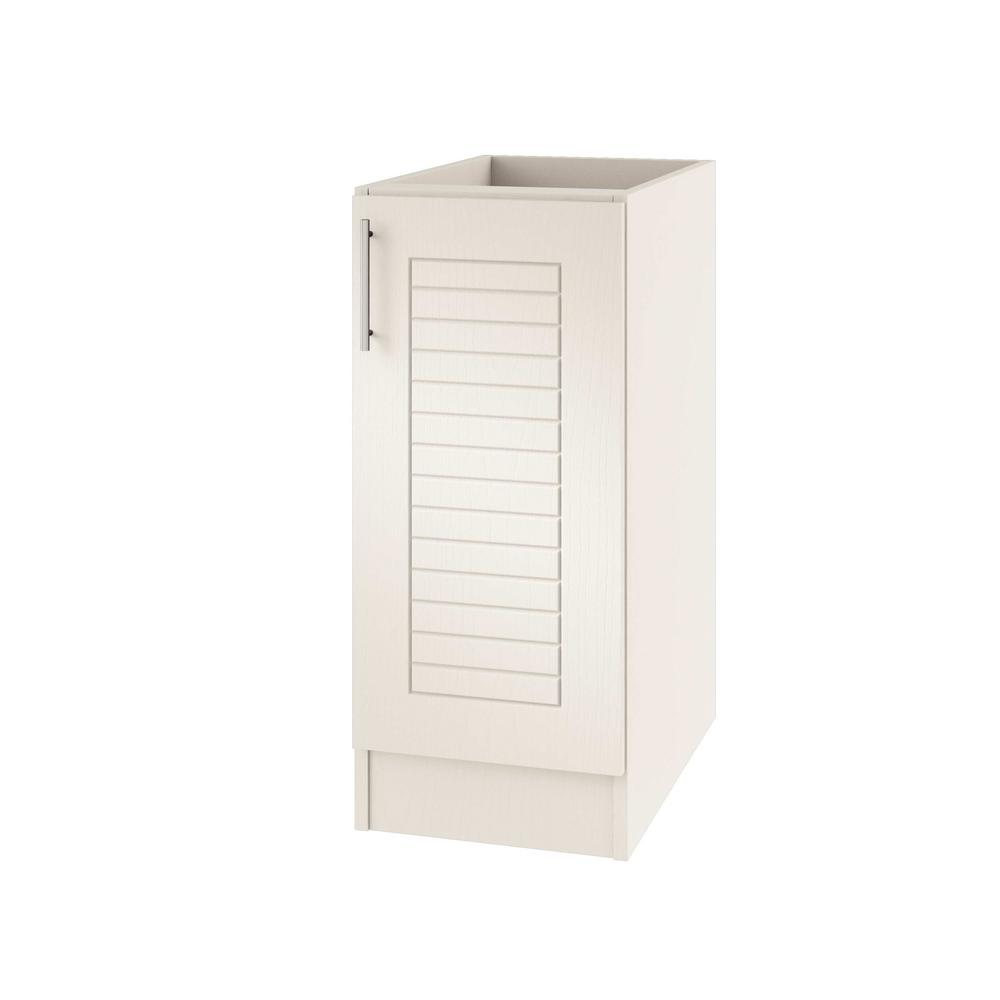 Outdoor Kitchen Cabinet Doors: WeatherStrong Assembled 12x34.5x24 In. Key West Open Back