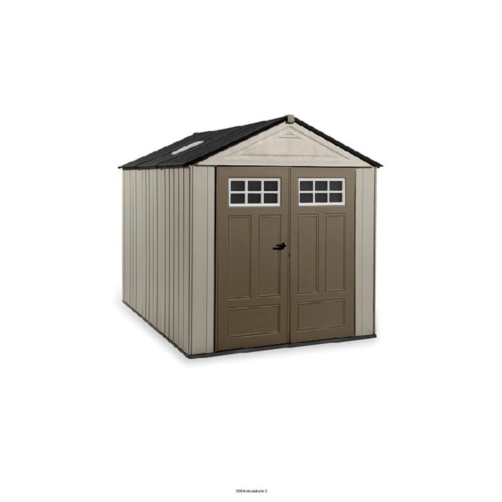 Rubbermaid big max ultra 10 5 ft x 7 ft storage shed