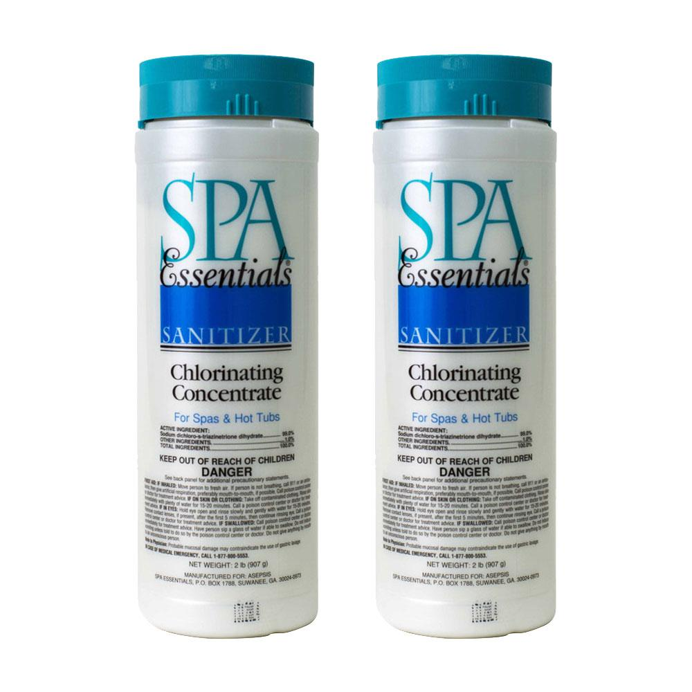 Spa Essentials Spa and Hot Tub 2 lb. Chlorinating Concentrate Granules (2-Pack)