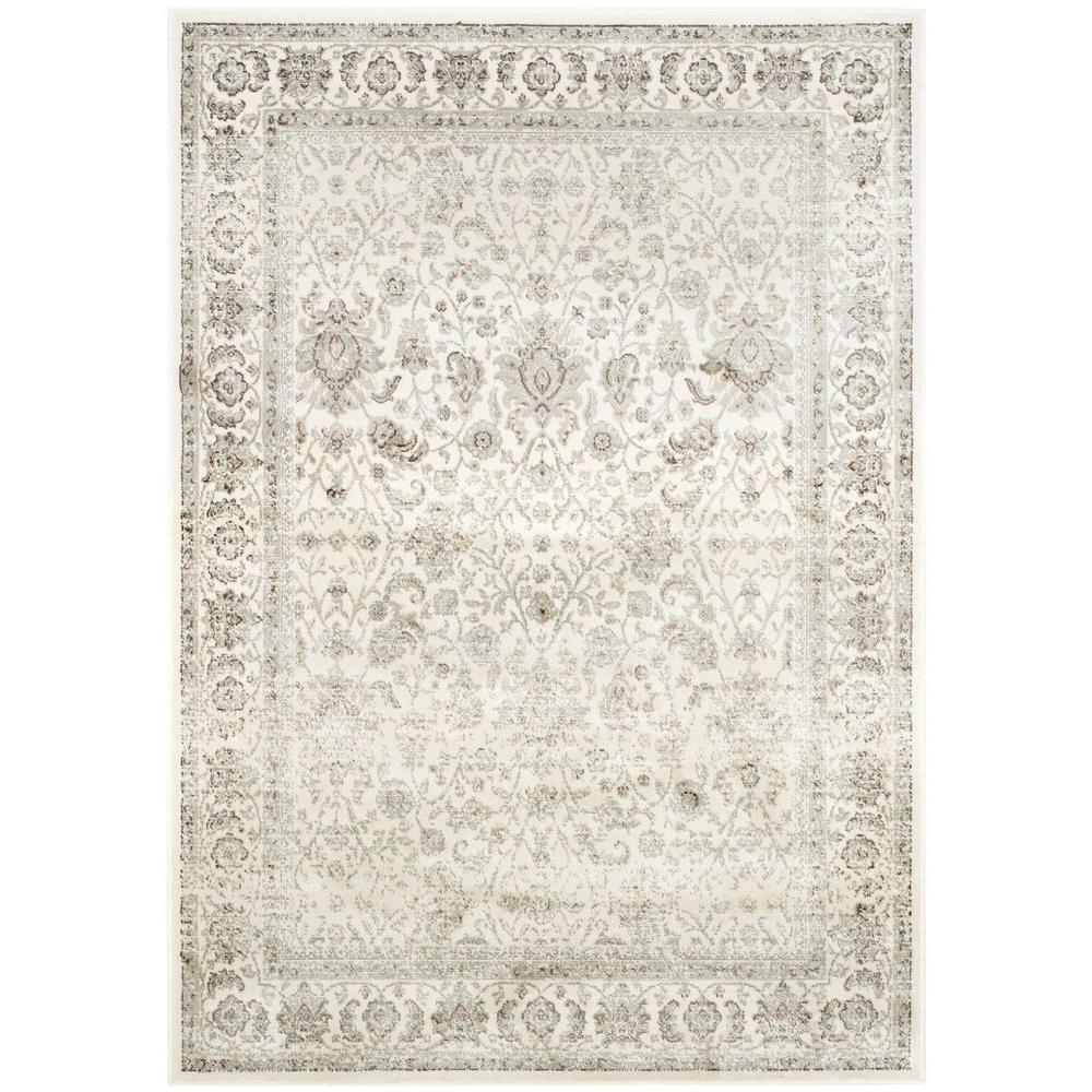 Safavieh Persian Garden Ivory Silver 4 Ft X 6 Area Rug