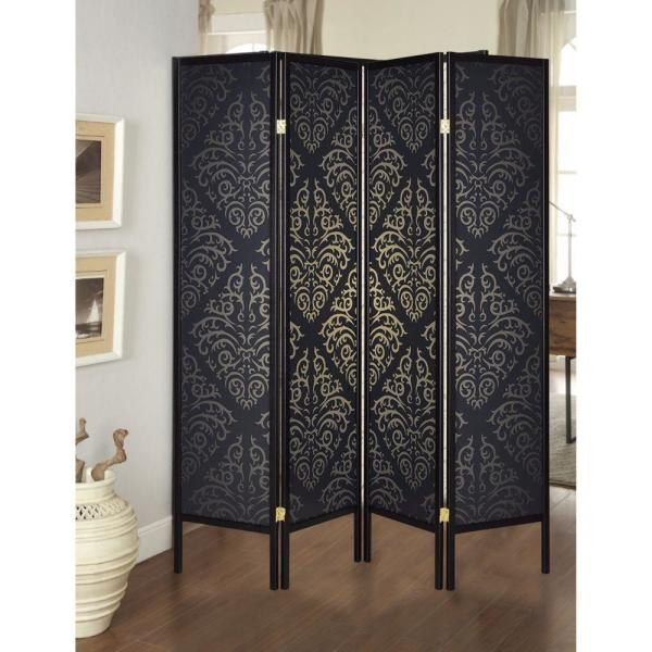 Panel Folding Screen Room Divider