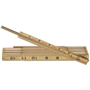 Klein Tools 6 ft. Wood Folding Ruler with Extension by Klein Tools