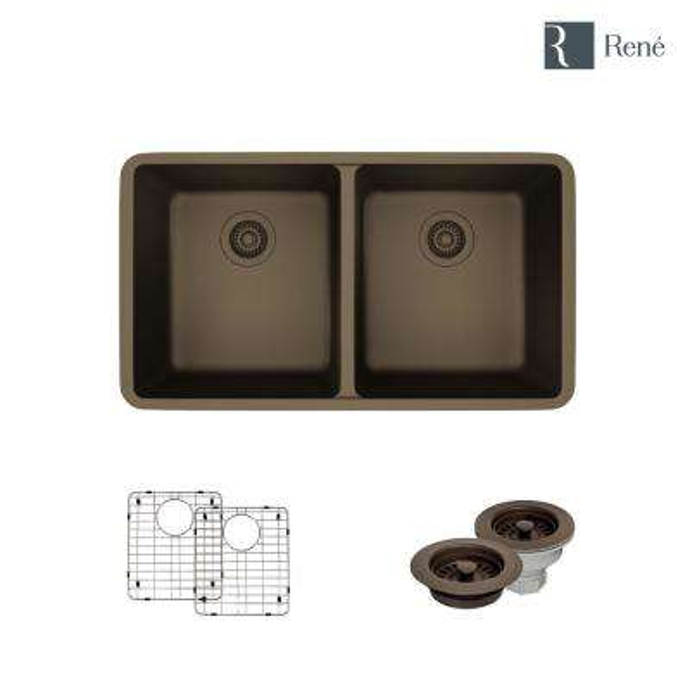 dark brown undermount kitchen sinks kitchen sinks the home depot rh homedepot com
