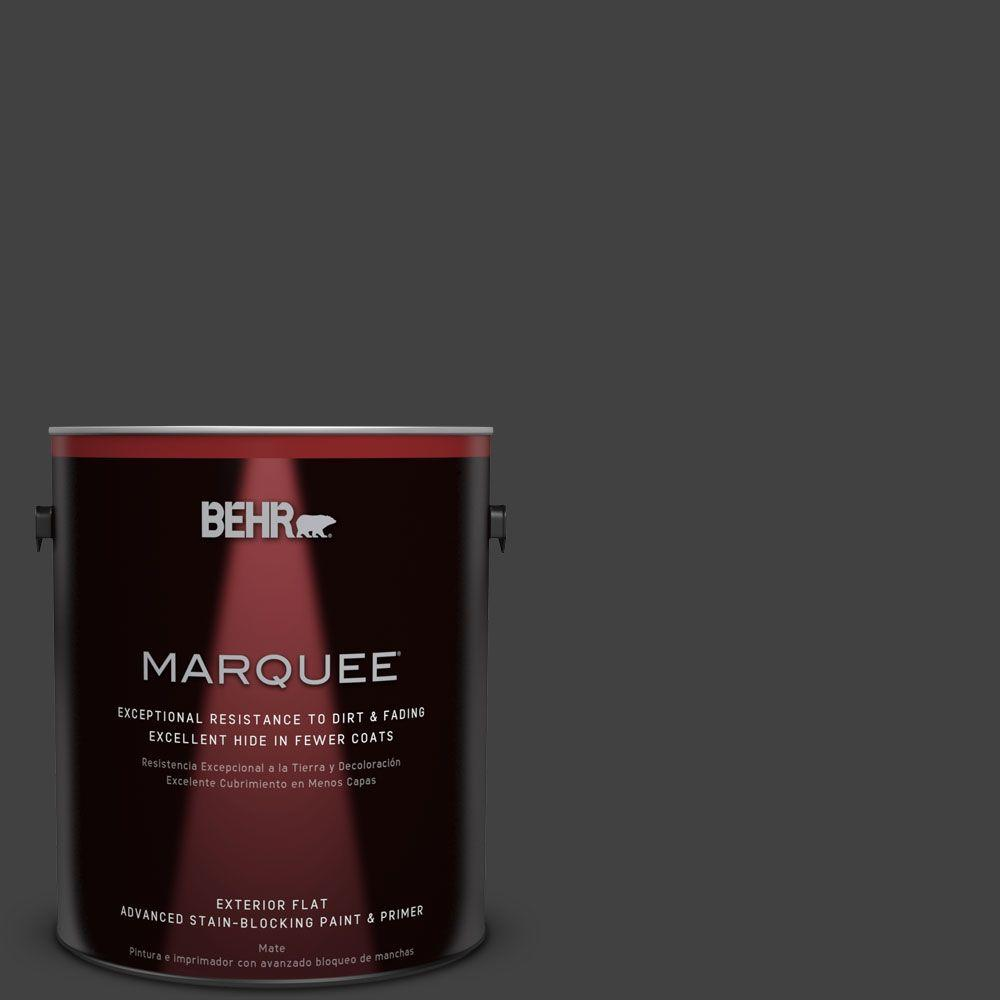 This Review Is From:1 Gal. #BNC 38 Spade Black Flat Exterior Paint