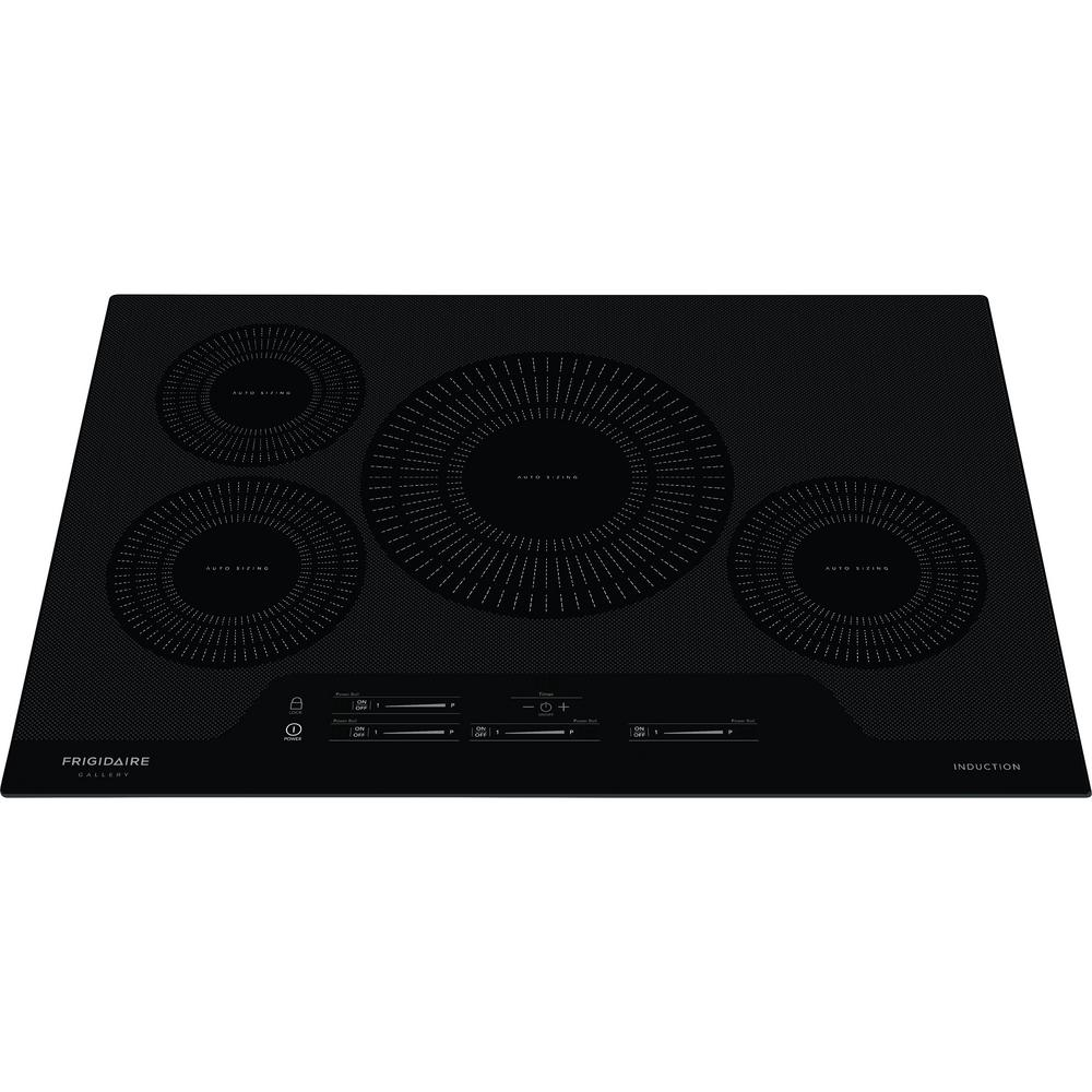 Smooth Electric Induction Cooktop In Black With 4 Elements