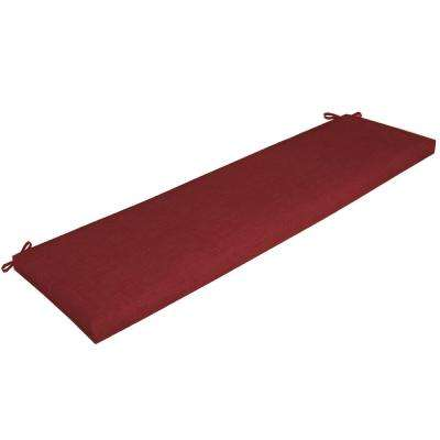 Ruby Leala Texture Outdoor Bench Cushion