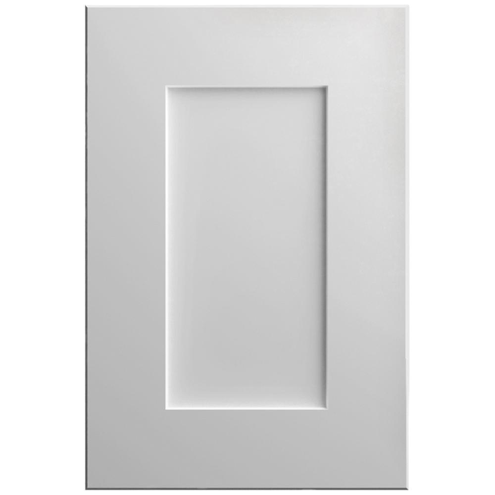 Hampton Bay Designer Series 11x15 In Clay Cabinet Door Sample In