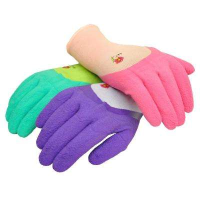 2030 Women Garden Gloves with Micro Foam Nitrile Coating, Texture Grip (3 per Pack)