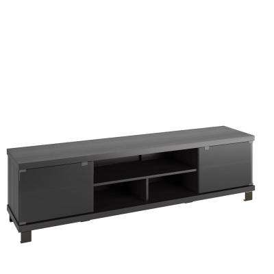 Holland Ravenwood Black Extra Wide TV Bench for TVs up to 80 in.