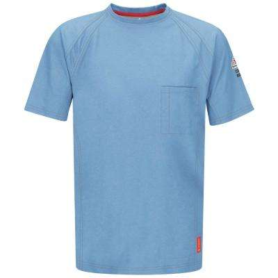 IQ Men's 3X-Large Blue Short Sleeve Tee