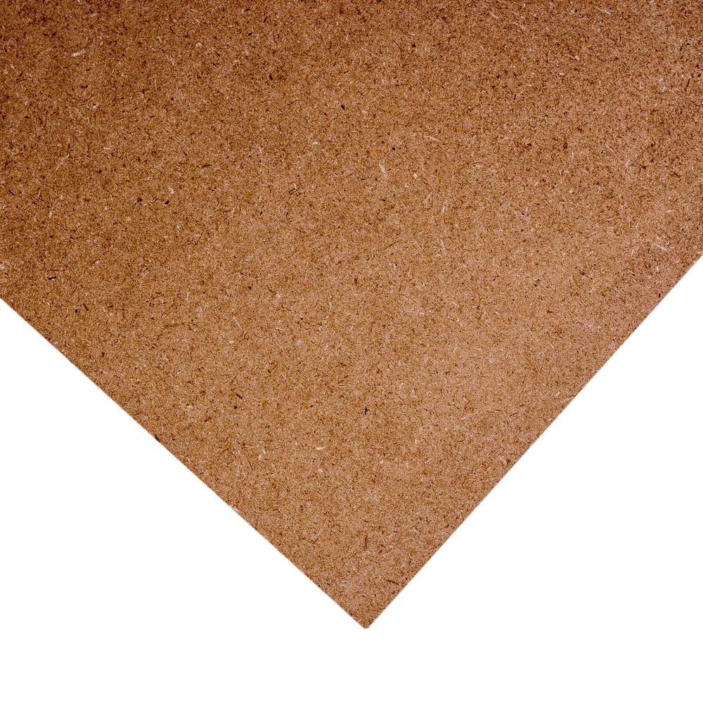 Medium Density Fiberboard (Common: 1/4 in. x 2 ft. x 4
