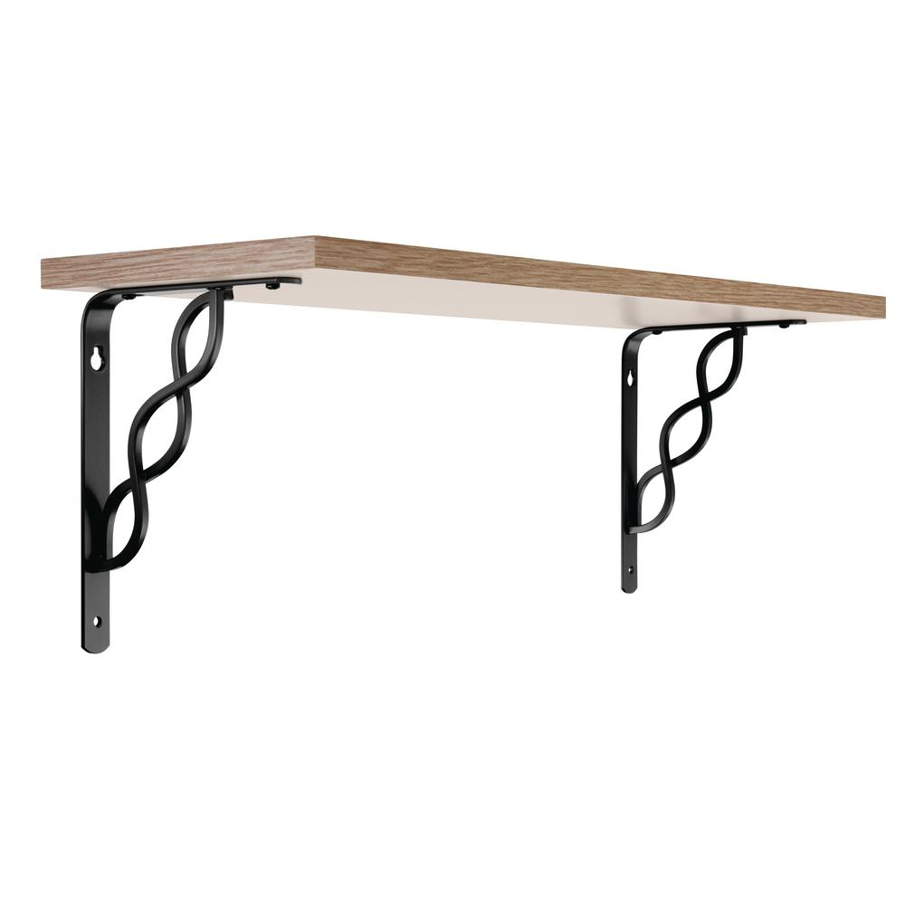 "Set of 8 Medium Simple Arch Cast Iron Shelf Brackets Brace Measures  6/"" x 6/"""