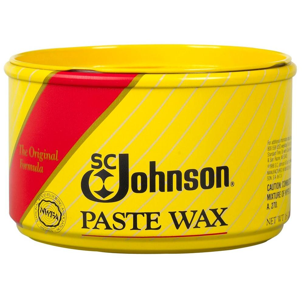 Fine Wood Furniture Paste Wax Can (6-Pack) - 16 Oz. Fine Wood Furniture Paste Wax Can (6-Pack)-00203 - The Home Depot