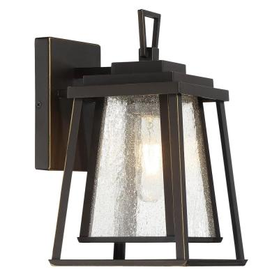 Sleepy Hollow 1-Light Dakota Bronze Outdoor Wall Mount Sconce Light