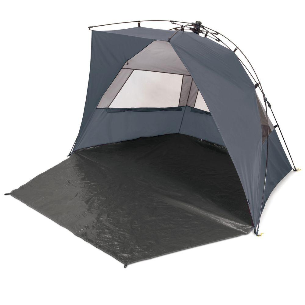 Haven Portable Sun and Wind Shelter in Grey