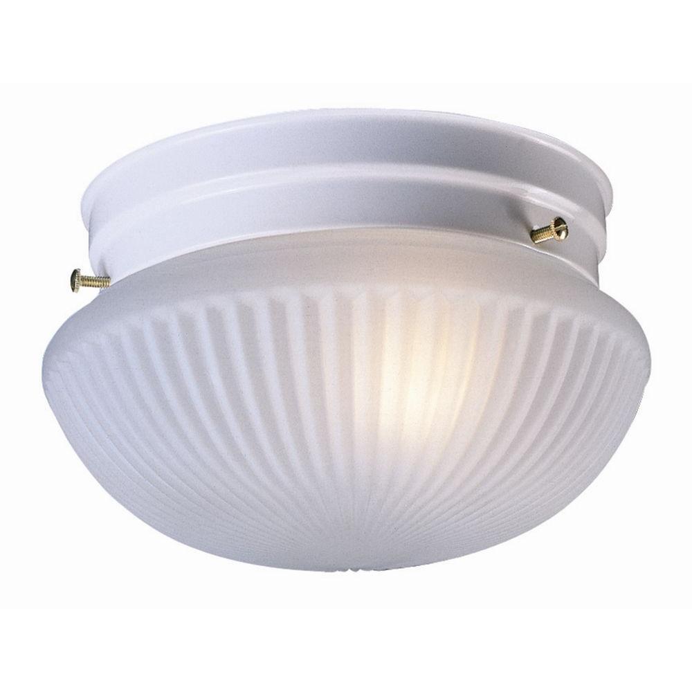Millbridge 1-Light White Ceiling Light