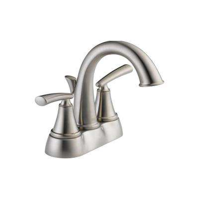 Kennett 4 in. Centerset 2-Handle Bathroom Faucet in Brushed Nickel