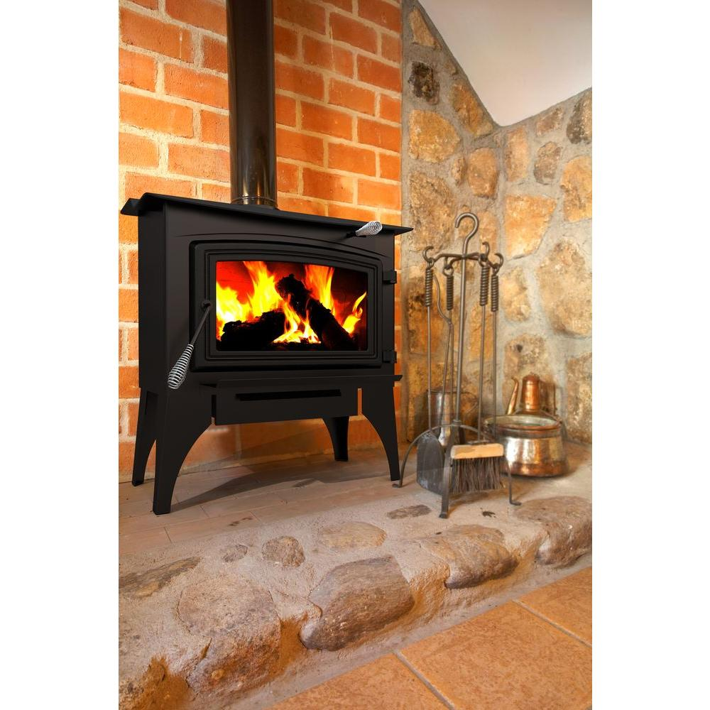 High Quality Pleasant Hearth 1,800 Sq. Ft. EPA Certified Wood Burning Stove