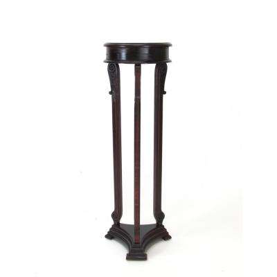 Brown Louis Pedestal