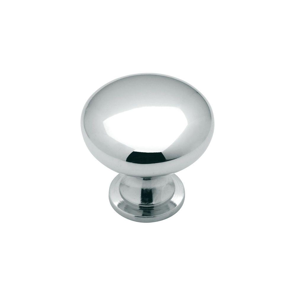Allison Value 1-1/4 in. Polished Chrome Cabinet Knob