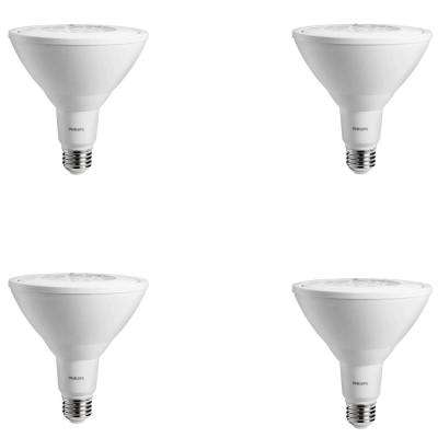90-Watt Equivalent Bright White PAR38 Non-Dimmable Ambient LED Flood Light Bulb (4-Pack)