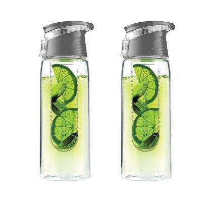 Pure Flavor 2 Go 20 oz. Smoke Water Bottle (2-Pack)