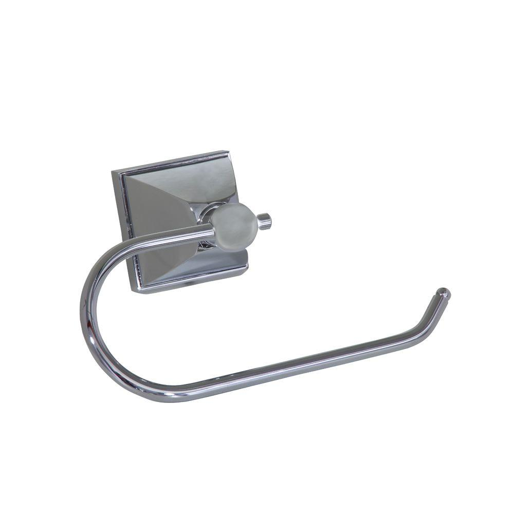 Barclay Products Delfina Single Post Toilet Paper Holder in Chrome