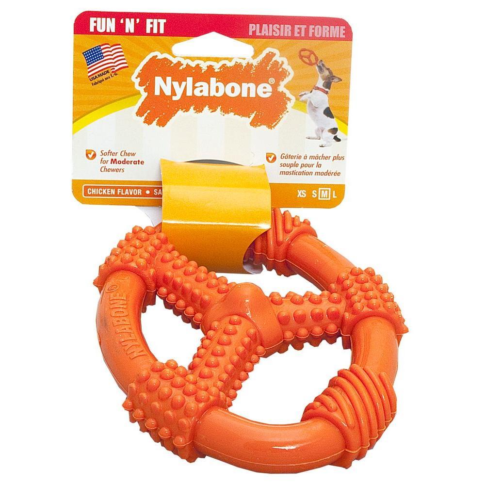 Nylabone Oval Ring Medium Dog Chew