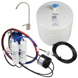 Home Master Standard with Permeate Pump Loaded Under Sink Reverse Osmosis Water Filter System by Home Master