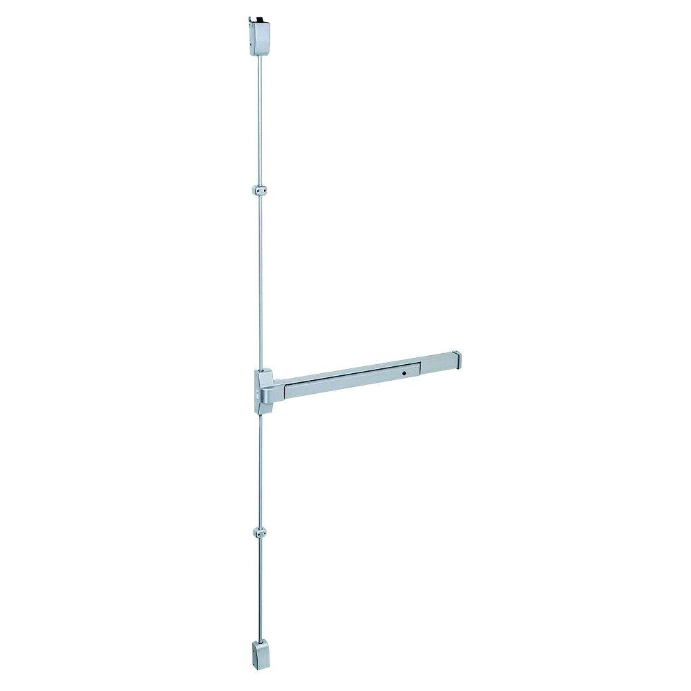 36 in. Aluminum Fire Rated Touch Bar Surface Vertical Rod Exit