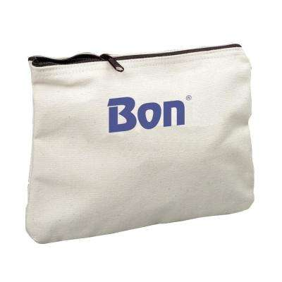 7.5 in. Canvas Zipper Tool Bag