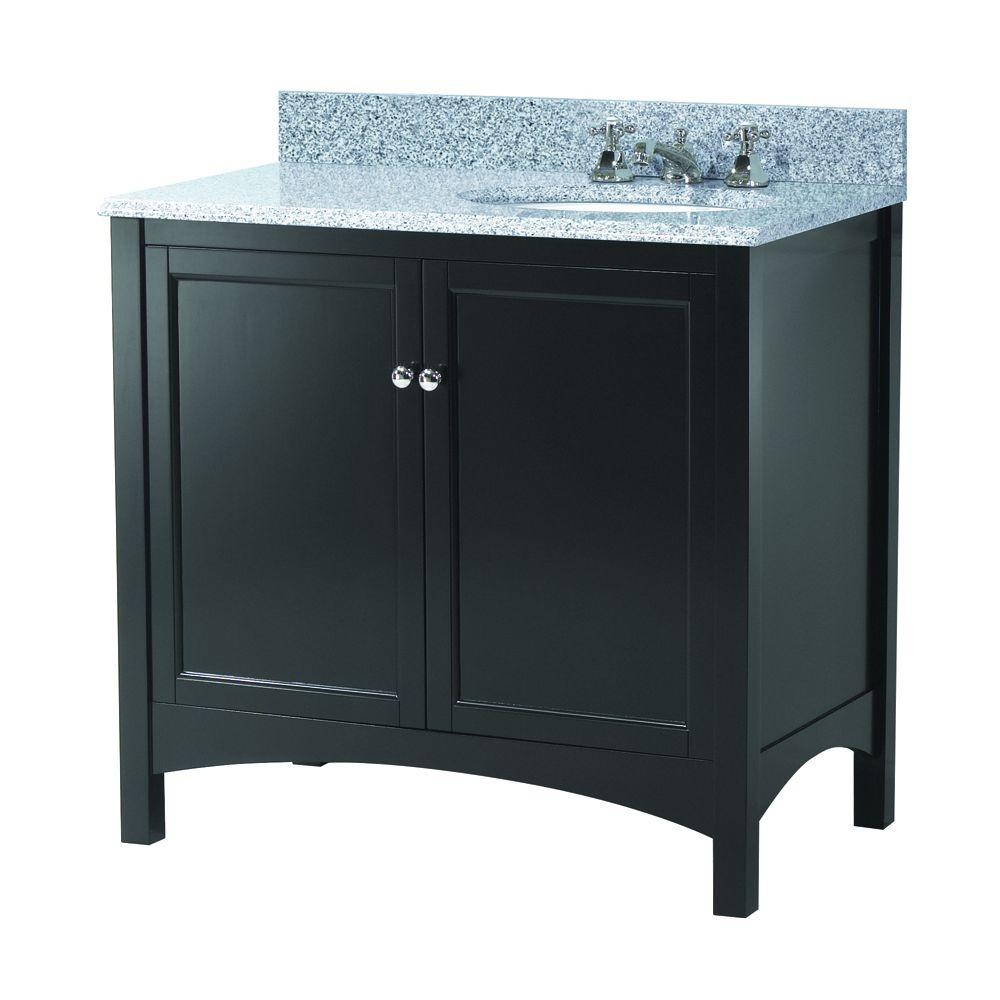 Haven 37 in. W x 22 in. D Vanity in Espresso