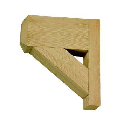 14 in. x 16 in. x 3-1/2 in. Polyurethane Timber Bracket