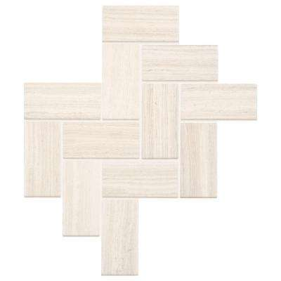 Developed by Nature Chenille 12 in. x 14 in. x 6.35 mm Ceramic Mosaic Tile