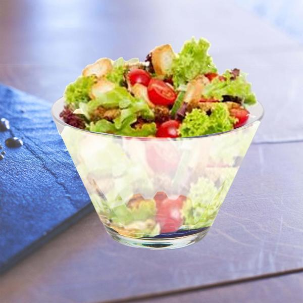 Mind Reader Rainbow Salad Bowl Acrylic Salad Bowl Fruit Bowl Serving Bowl Mixing Bowl Shatter Proof Multi Purpose Set Of 4 Rsal4 Clr The Home Depot