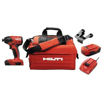 22-Volt Lithium-Ion 1/4 in. Hex Cordless Brushless SID 4 Compact Impact Driver with 3 gear speed