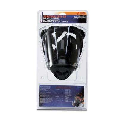 Survivair Full Facepiece Respirator with Organic Vapor/N95 Filter - Large