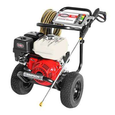PowerShot 4000 PSI at 3.5 GPM Honda GX270 Cold Water Professional Gas Pressure Washer with AAA Industrial Triplex Pump