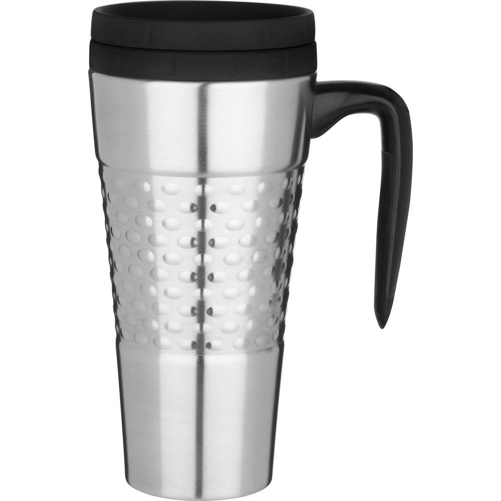 Trudeau 24 oz. Majestic Stainless Steel, Double Wall Insulated Travel Mug-DISCONTINUED
