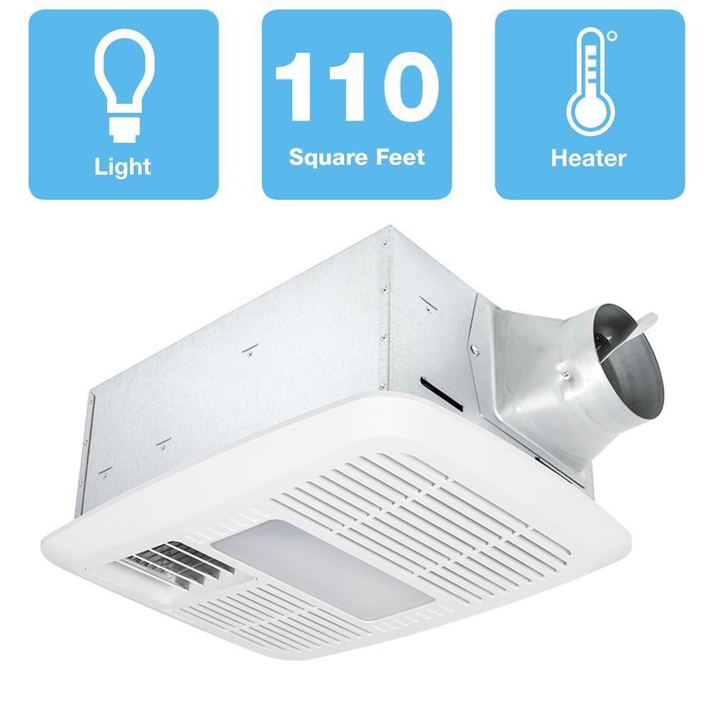 delta breez radiance 110 cfm ceiling exhaust bathroom fan