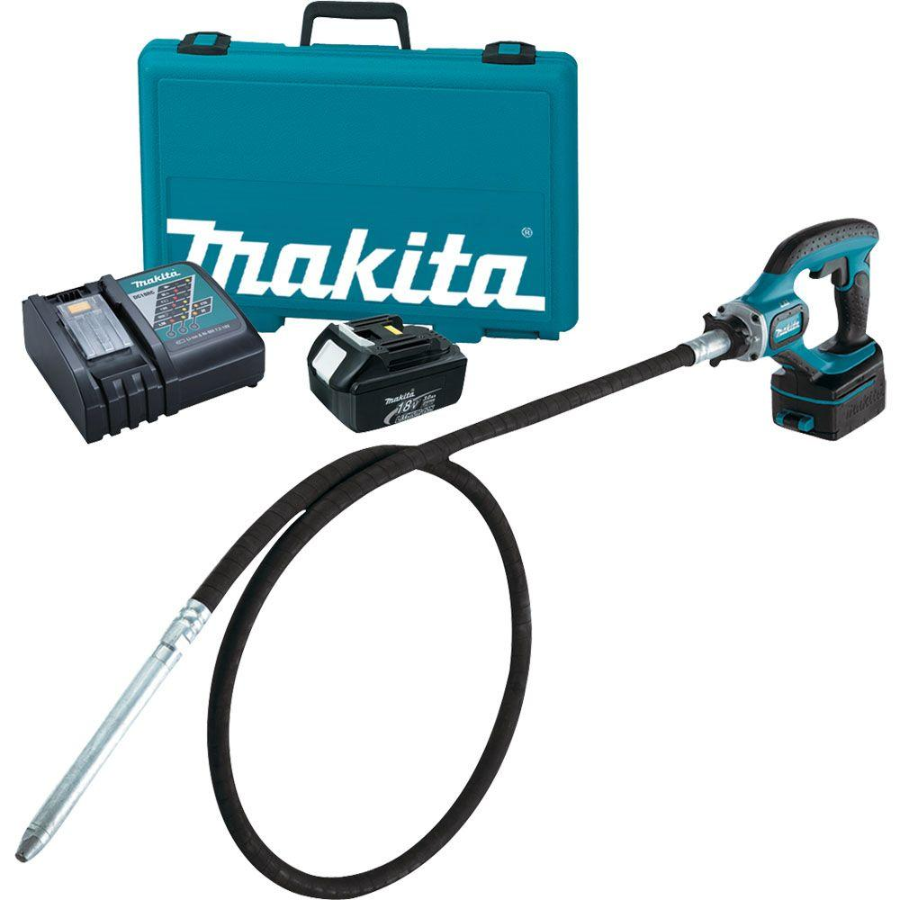 Makita 18 Volt Lxt Lithium Ion 8 Ft Cordless Concrete