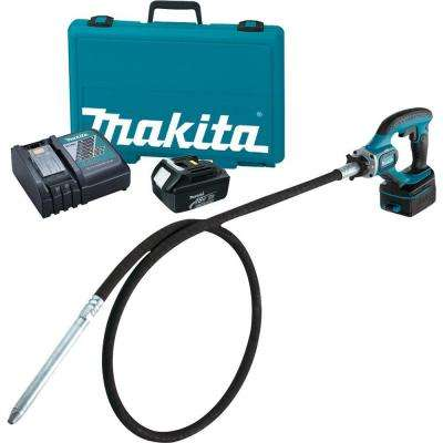 18-Volt LXT Lithium-Ion 8 ft. Cordless Concrete Vibrator Kit