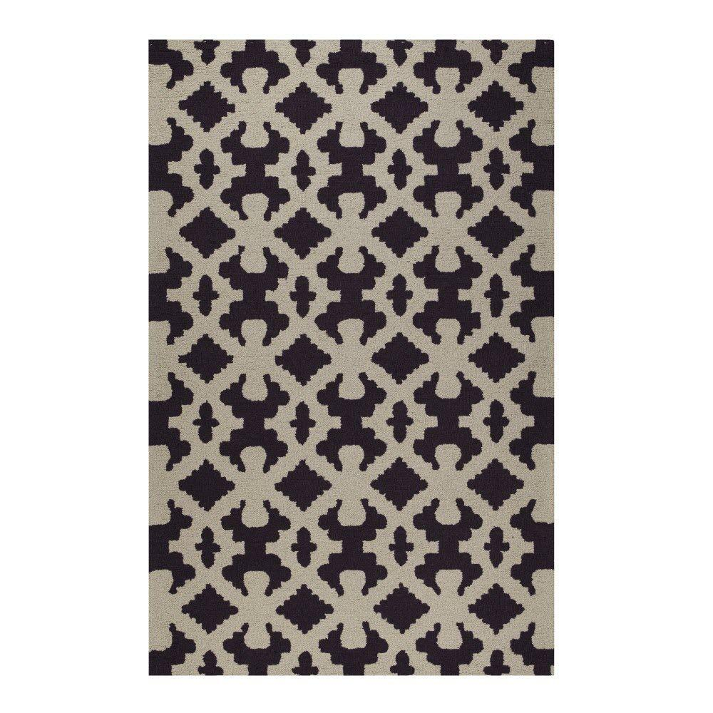 Home Decorators Collection Bowtie Grand Grape 3 ft. 9 in. x 5 ft. 9 in. Area Rug