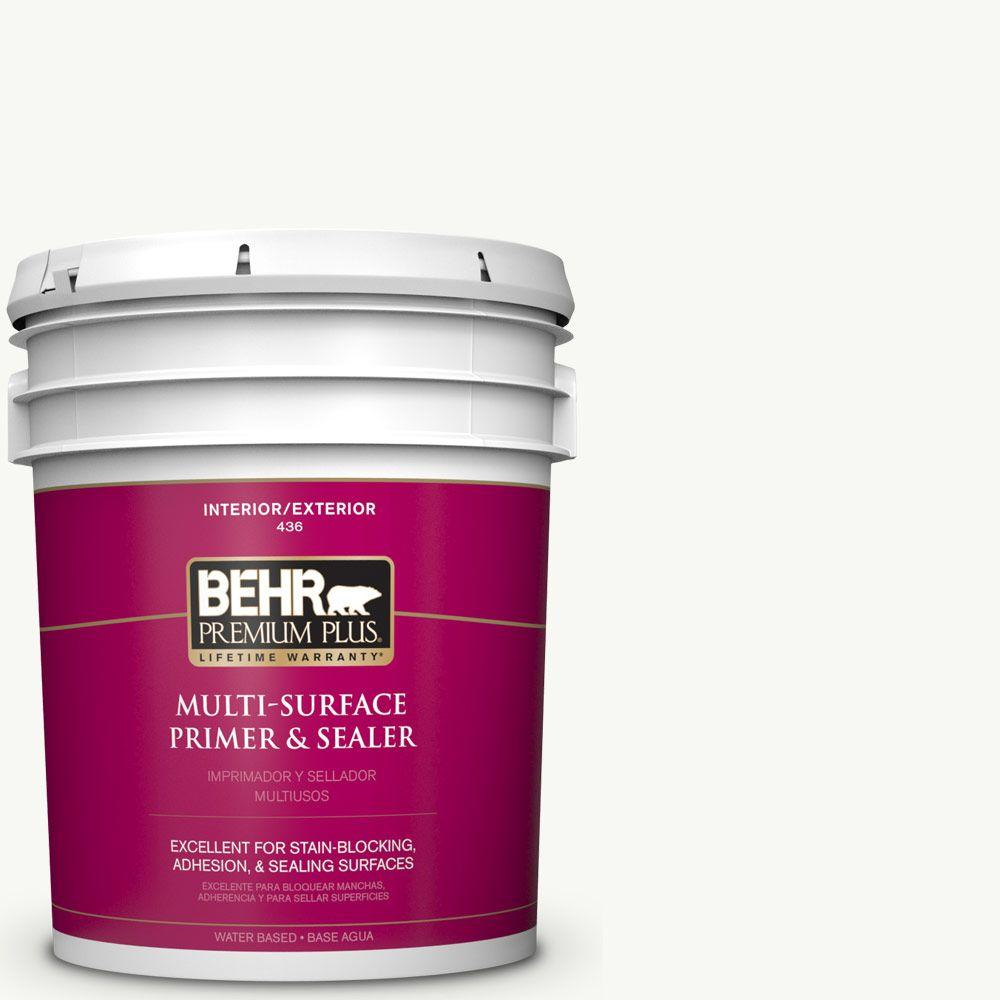 BEHR Premium Plus 1 gal. Multi-Surface Interior/Exterior Primer ...