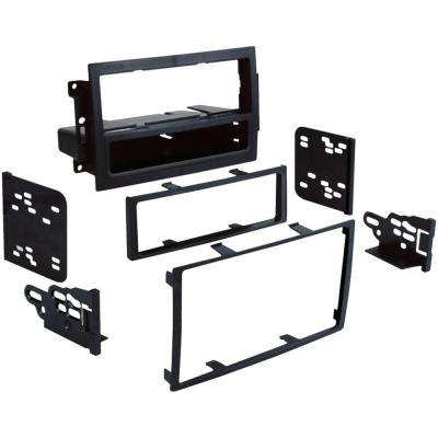 2005-2008 Dodge Jeep Chrysler Single or Double DIN Installation Multi Kit For Vehicles with Factory Navigation