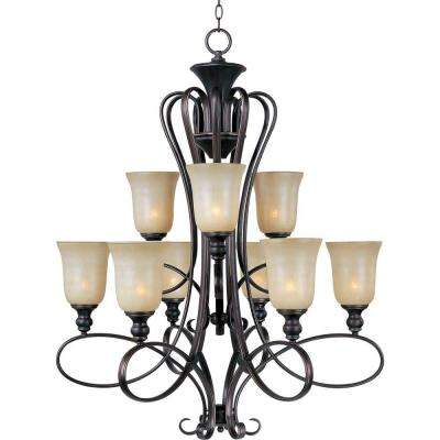 Infinity 9-Light Oil-Rubbed Bronze Chandelier